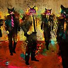 Cats in Suits by Ian Jones