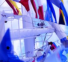 ship flags by RusticShiraz