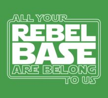 All Your Rebel Base Kids Clothes