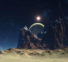 The Shard - Hebilon III by AlienVisitor