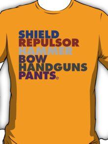 Avengers in Type T-Shirt