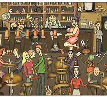 English pub by matan kohn