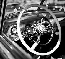Car Interior - Monochrome by Firesuite
