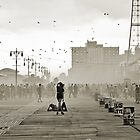Moment in Coney Island. Brooklyn, New York by Mon Zamora