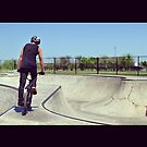 BMX session at Broken Arrow skatepark by toddedenborough