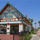 Hemet Depot by Chet  King