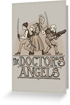 The Doctor's Angels by DoodleDojo