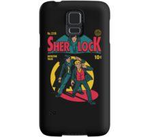 Sherlock Comic Samsung Galaxy Case/Skin
