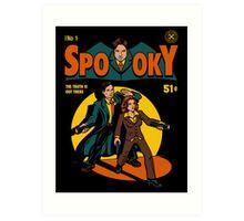 Spooky Comic Art Print