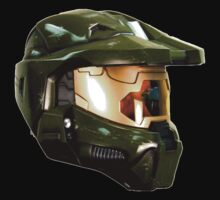 Master chief helmet by linwatchorn