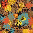 The bee. by Ekaterina Panova