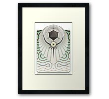 The Eye of Aeturnus [with background] Framed Print