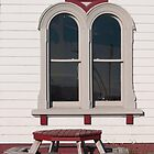 curved windows by Anne Scantlebury