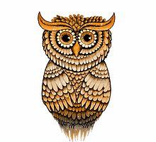 'Vintage Owlbert' by STUDIO 88 TARANAKI NZ