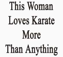 This Woman Loves Karate More Than Anything  by supernova23