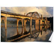 Suislaw River Bridge Poster