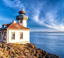 Lime Kiln Lighthouse by Jim Stiles
