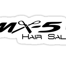 MX-5 Hair Salon Sticker