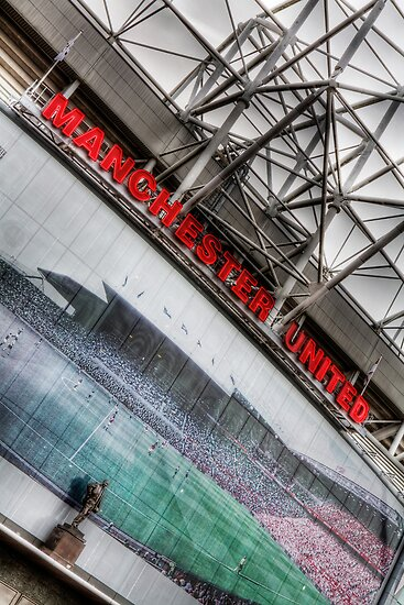 Old Trafford - 100 years by RED DAVID