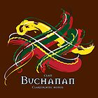 Clan Buchanan Tartan Twist by eyemac24
