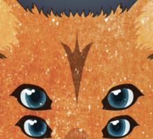 Six Eyed Fox Sticker