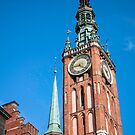 Medieval clock tower. by FER737NG