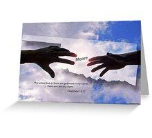 Prayers for Moore, Oklahoma Greeting Card