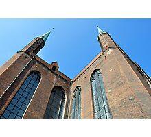 Gothic basilica, Poland. Photographic Print