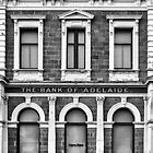 The Old Bank Of Adelaide Facade : Port Adelaide South Australia. by Nick Egglington