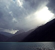 Iskander Kul, Tajikistan by heinrich