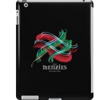 Menzies Tartan Twist iPad Case/Skin