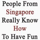 People From Singapore Really Know How To Have Fun  by supernova23