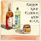 EDiM #17  Draw Something from the First Aid Kit by Evelyn Bach