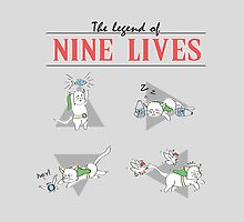 Legend of Nine Lives by thehookshot