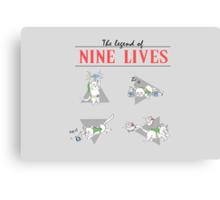 Legend of Nine Lives Canvas Print