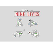 Legend of Nine Lives Photographic Print