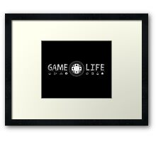Game Life Framed Print