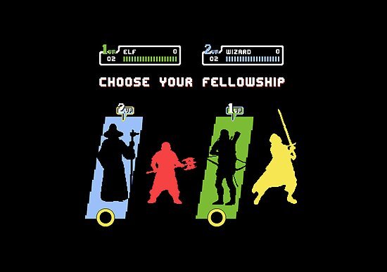 Choose Your Fellowship by thehookshot