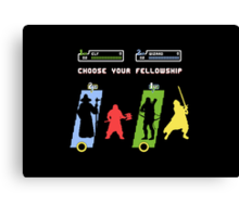 Choose Your Fellowship Canvas Print