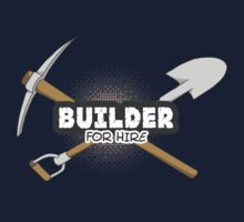 Builder For Hire Kids Clothes