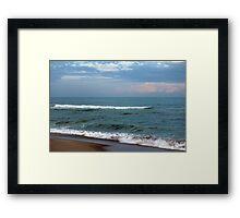 Kure Beach, North Carolina Framed Print