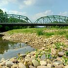 Old Montoursville Iron Bridge by Gene Walls