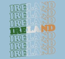 Ireland St Patricks Day Flag by CarbonClothing