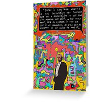 RichARTd Dawkins (Richard Dawkins) Greeting Card