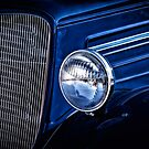 Classic Denim Blue - Classic Car by Doreen Erhardt