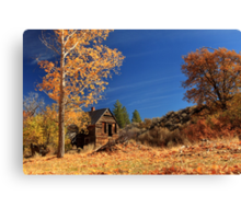 The Old Bunkhouse Landscape Canvas Print