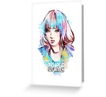 SNSD - Taeyeon Greeting Card
