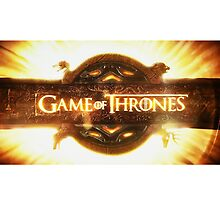 Game of Thrones logo by jsipek