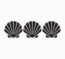 3 Sea Shells Kids Clothes