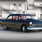 1955 Chevrolet Coupe VIII by DaveKoontz